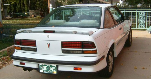 Boost Coupe 1990 Pontiac Sunbird Gt Turbo