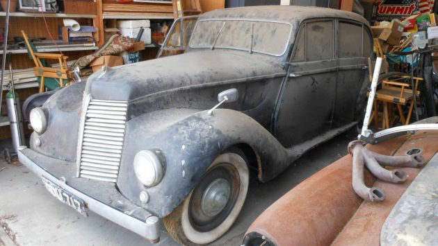 Dusty & Rusty: 1948 Armstrong Siddeley