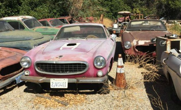 Swedish Graveyard: Volvo Collection in California