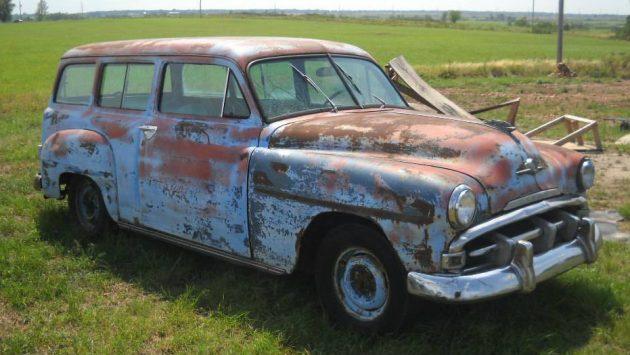 Non GM Suburban: 1952 Plymouth Field Find