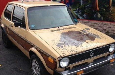 Woodgrain Kit: 1979 VW Rabbit Diesel