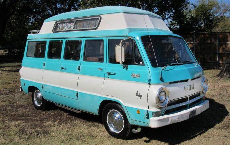 1968 Dodge A108 Travco Family Wagon