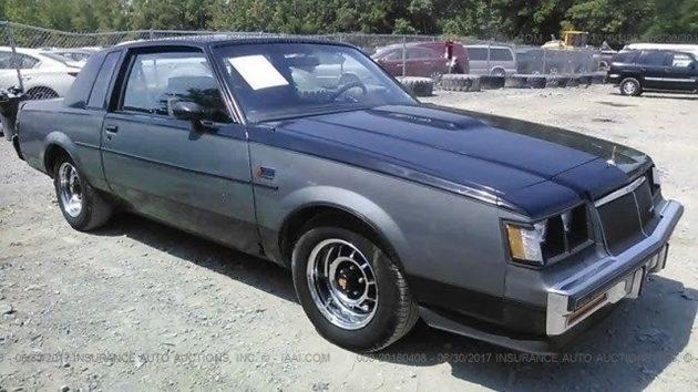 Rare Two-Tone Turbo: 1985 Buick WH1