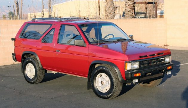 30-Year Old Gem: 1988 Nissan Pathfinder 4x4