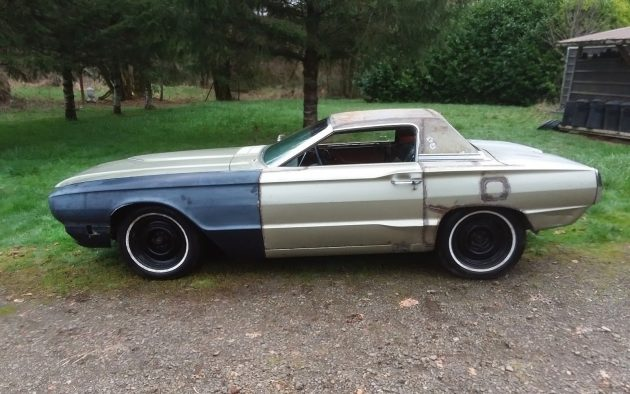 Clipped Wings 1966 Ford Thunderbird Shorty