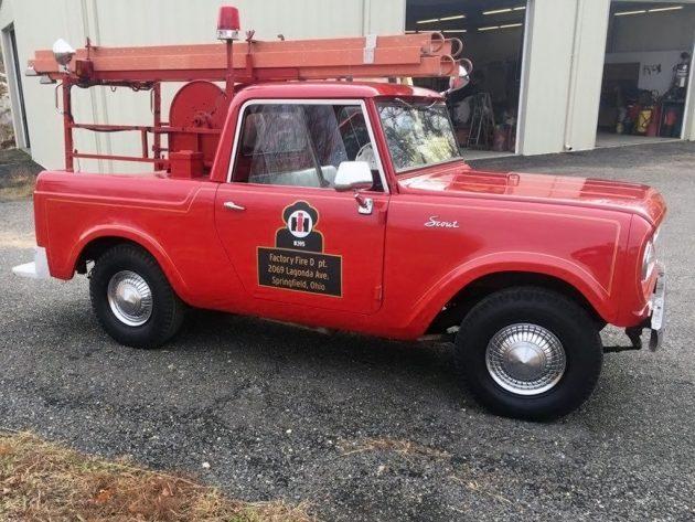 Cars Under 8000 >> Factory Fire 4x4: 1965 International Scout