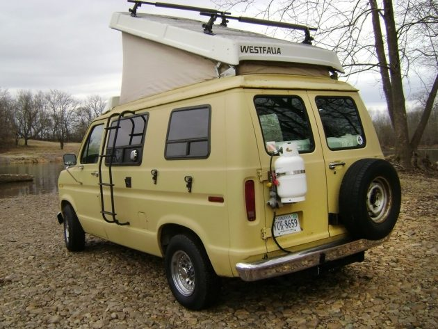 East Meets West 1986 Ford E 150 Camper Van
