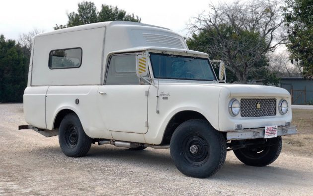 1963 International Scout 80 Camper Deluxe