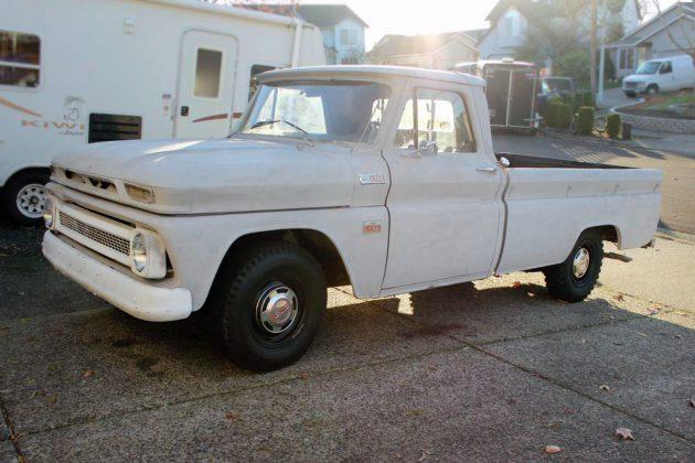 283 V8 4 Speed For 2800 1965 Chevrolet C10