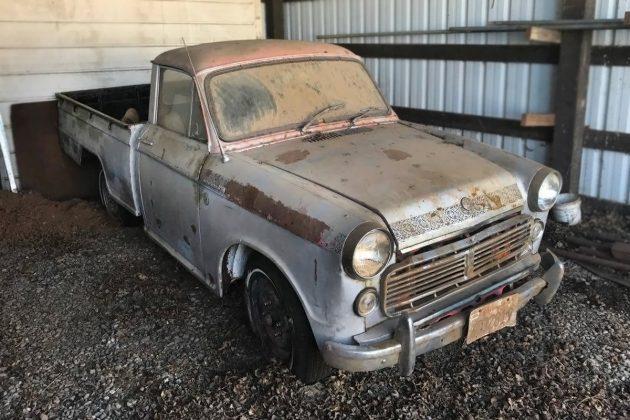 $3,500 Dusty Datsun: 1963 Datsun L320