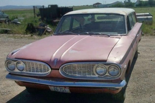 2 450 Wagon 1961 Pontiac Tempest