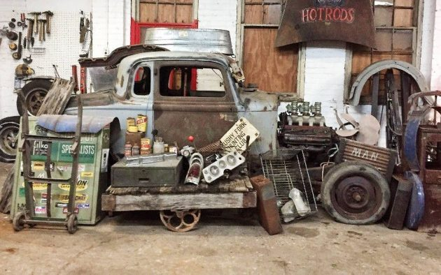 Pile Of Parts And Rust: 1934 Plymouth Coupe