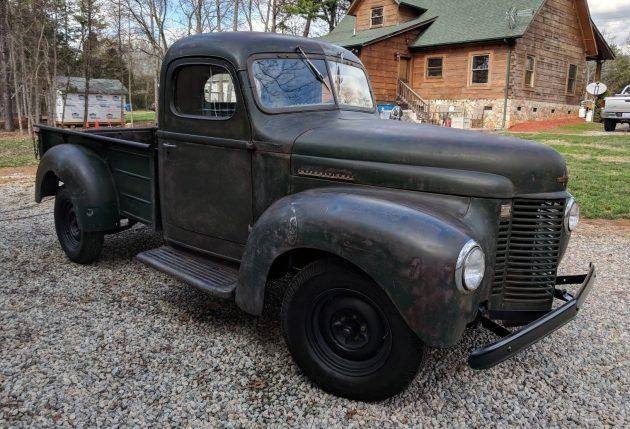 Reliable Relic: 1946 International Harvester Pickup