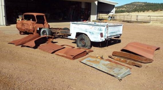 Some Assembly Required: 1957 Chevrolet Truck