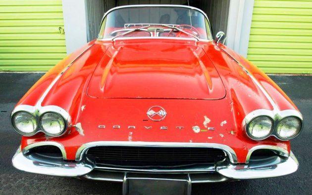 One Owner since 1971!  1962 Chevrolet Corvette Storage Find
