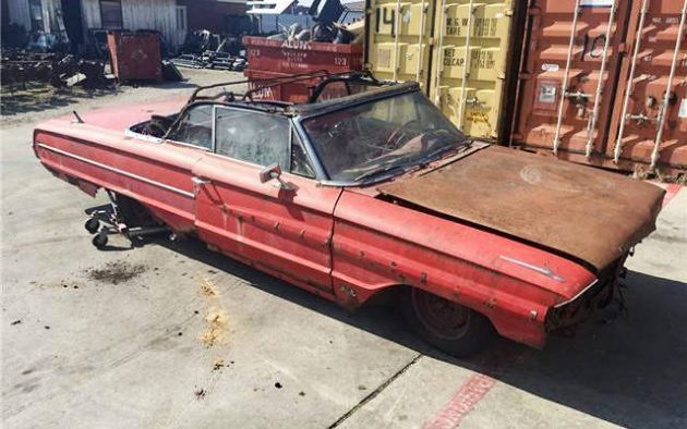 427 And A 4-Speed! 1964 Ford Galaxie 500