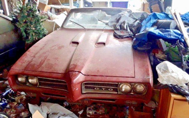 California Garage Gold! 1969 Pontiac GTO Convertible