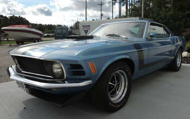 Amazing One-Owner Survivor: 1970 Mustang Boss 302