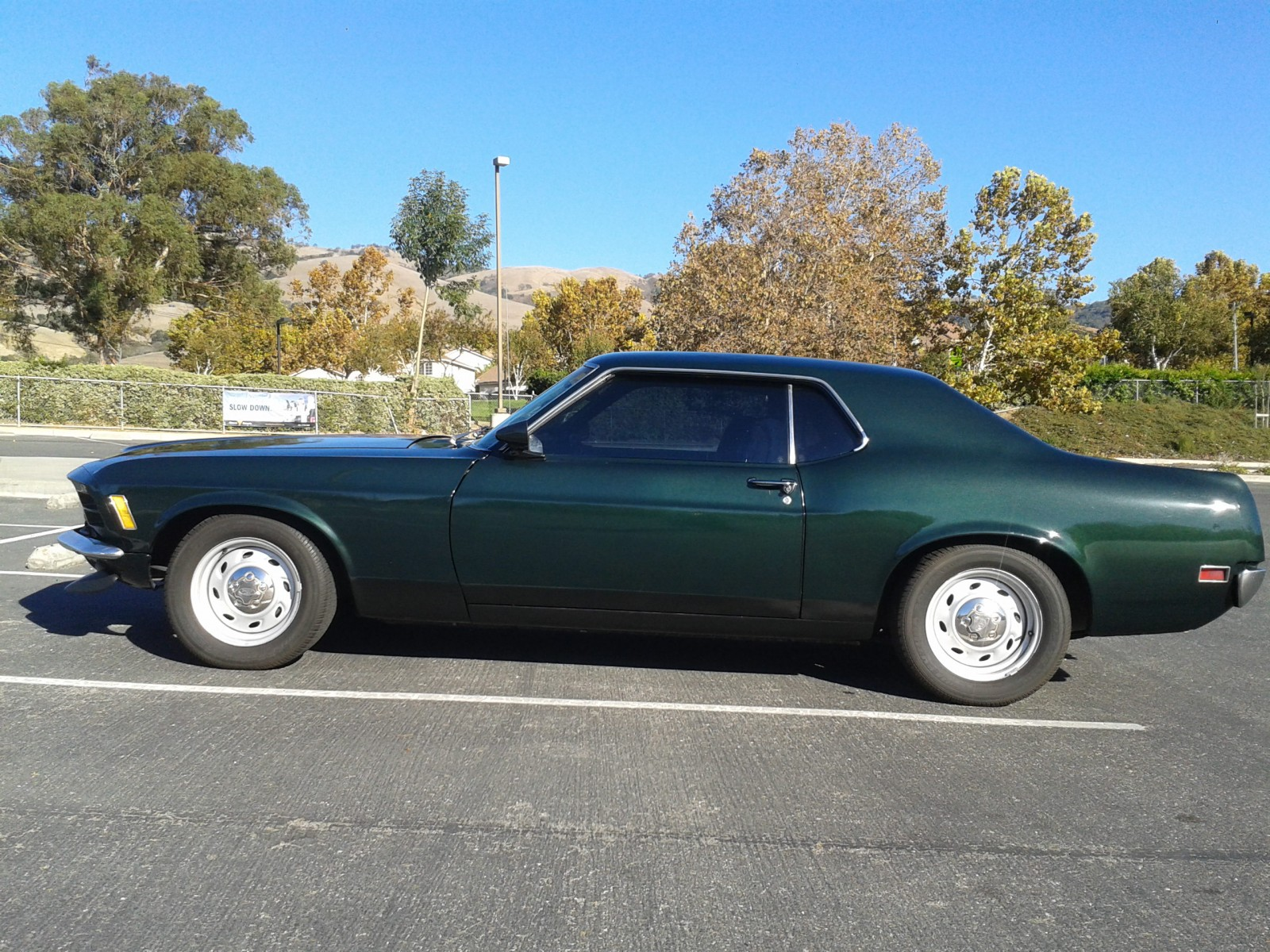 25 years of hiding  1970 ford mustang 428 scj
