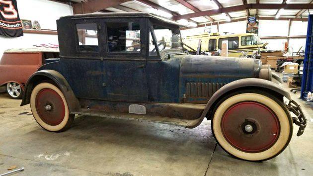 Big Wheel Survivor: 1924 Nash Victoria