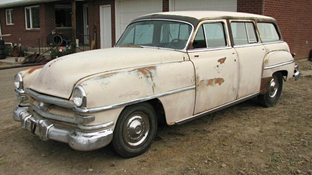 Resto Worthy 1953 Chrysler Windsor Town And Country