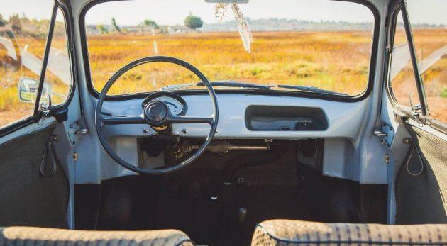 Baby Blue: 1959 VESPA 400 Micro Car