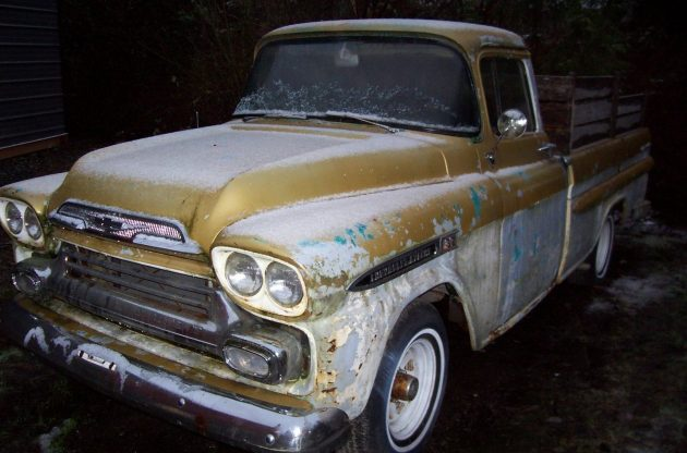 Sold With Title 1959 Chevy Apache Fleetside