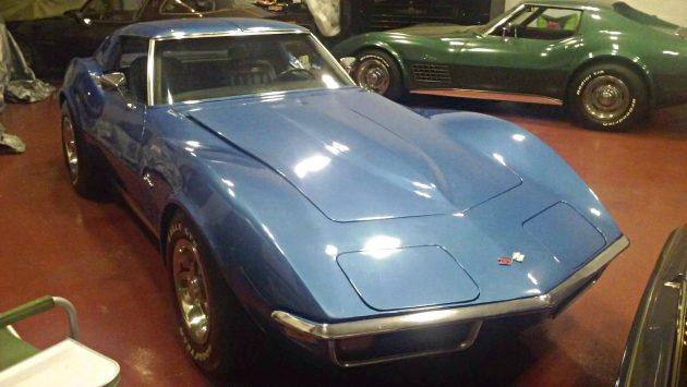 Low Mile T Top: 1970 Chevrolet Corvette Stingray