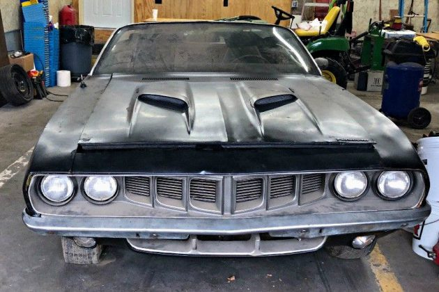 Dodge Challenger Convertible >> One Year Fish: 1971 Plymouth Cuda