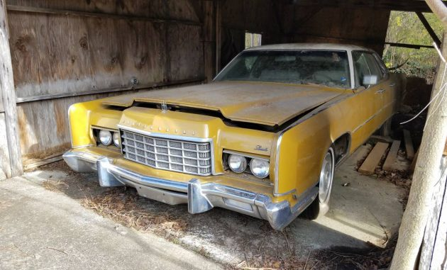 Go Big Or Go Home 1973 Lincoln Continental Town Car