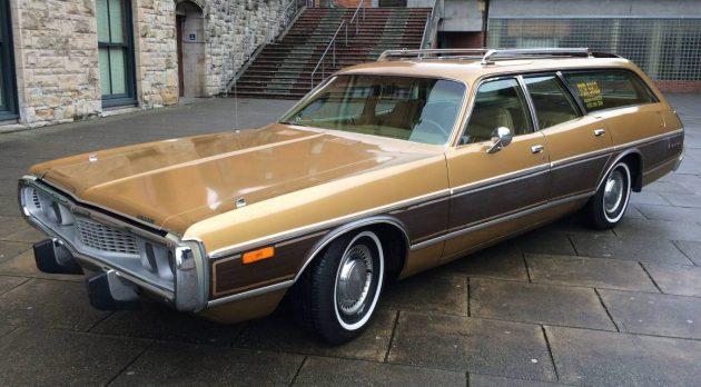 old gold sled 1973 dodge coronet crestwood. Black Bedroom Furniture Sets. Home Design Ideas