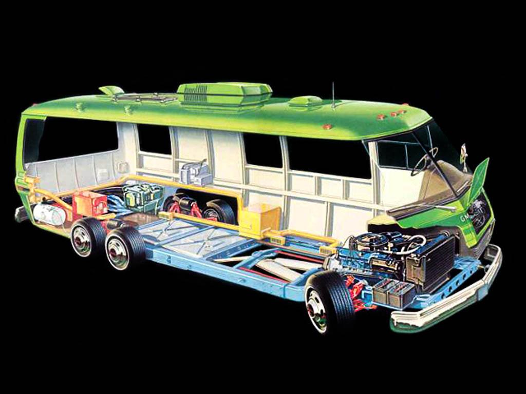 Finished By Coachmen: 1978 GMC Motorhome Royale