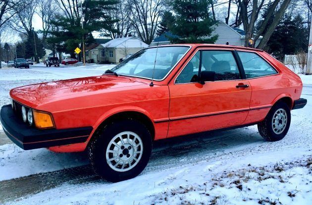 Still Goes Like The Wind: 1981 VW Scirocco S