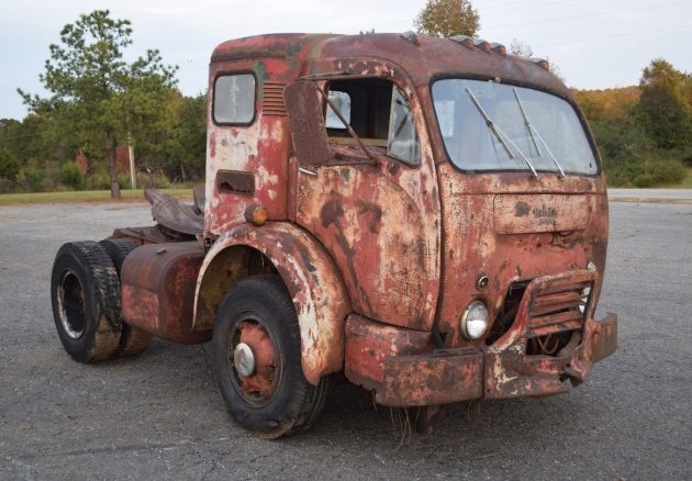 Crazy Cabover: White 3000 COE Sleeper