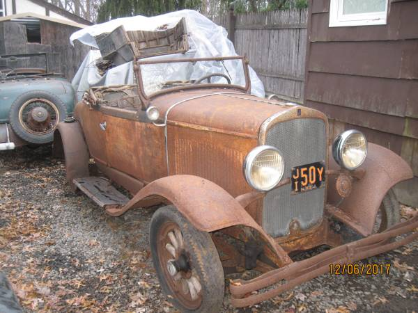 Rumble Seat Roadster: 1929 DeSoto Barn Find