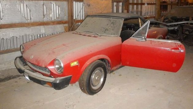 euro bumper candidate 1977 fiat 124 spider 1977 Fiat Spider oh my how those ugly u s bumpers change the looks of the pretty pininfarina designed fiat 124 spider these are not terribly difficult cars to find