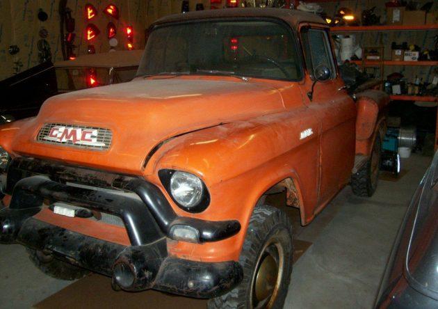 4WD Pioneer: 1956 GMC NAPCO 4x4