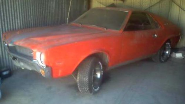 Major Project Barn Find: 1969 AMX