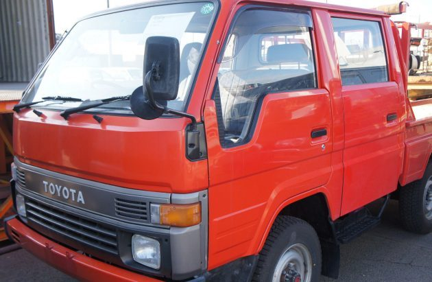 4WD Time Capsule: 1989 Toyota HiAce Fire Truck