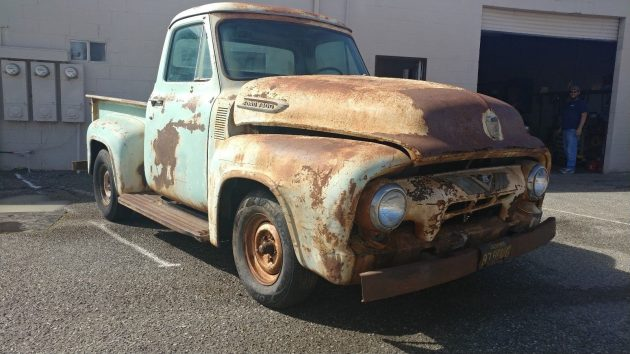 Patina Or Rust? 1954 Ford F100