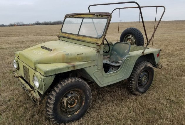 Geological Jeep: 1961 Mighty Mite M422A1
