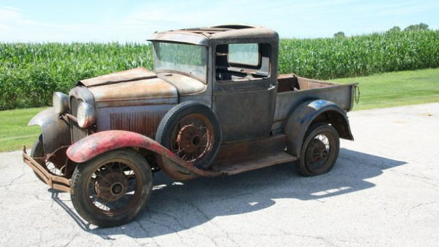 BF EXCLUSIVE: 1931 Ford Model A Farm Truck