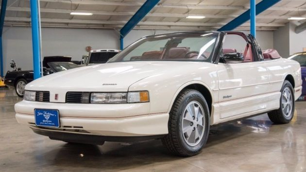 14K Original Miles: Oldsmobile Cutlass Convertible