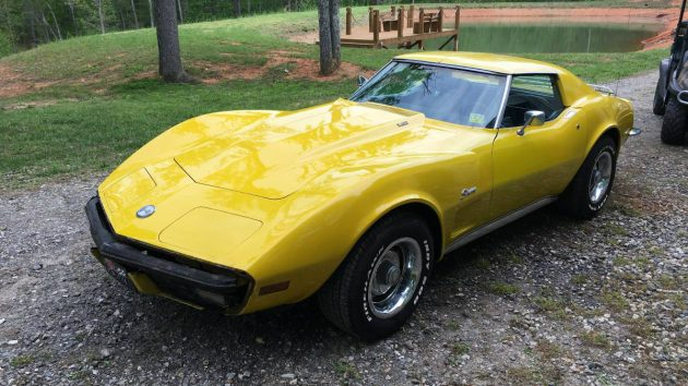 Racked! 1973 Corvette Project