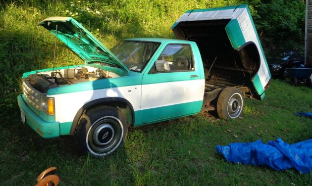 1970 Ford Pickup >> Tricked Out 144V: Electric Chevy S10 Project