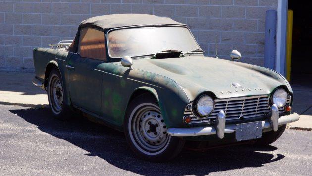 Complete History 1962 Triumph Tr4