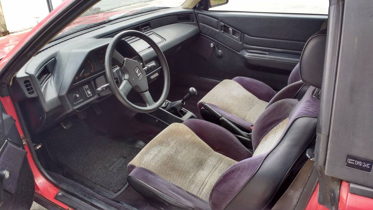3,000 Smiles for $3,000: 1985 Honda CRX Si