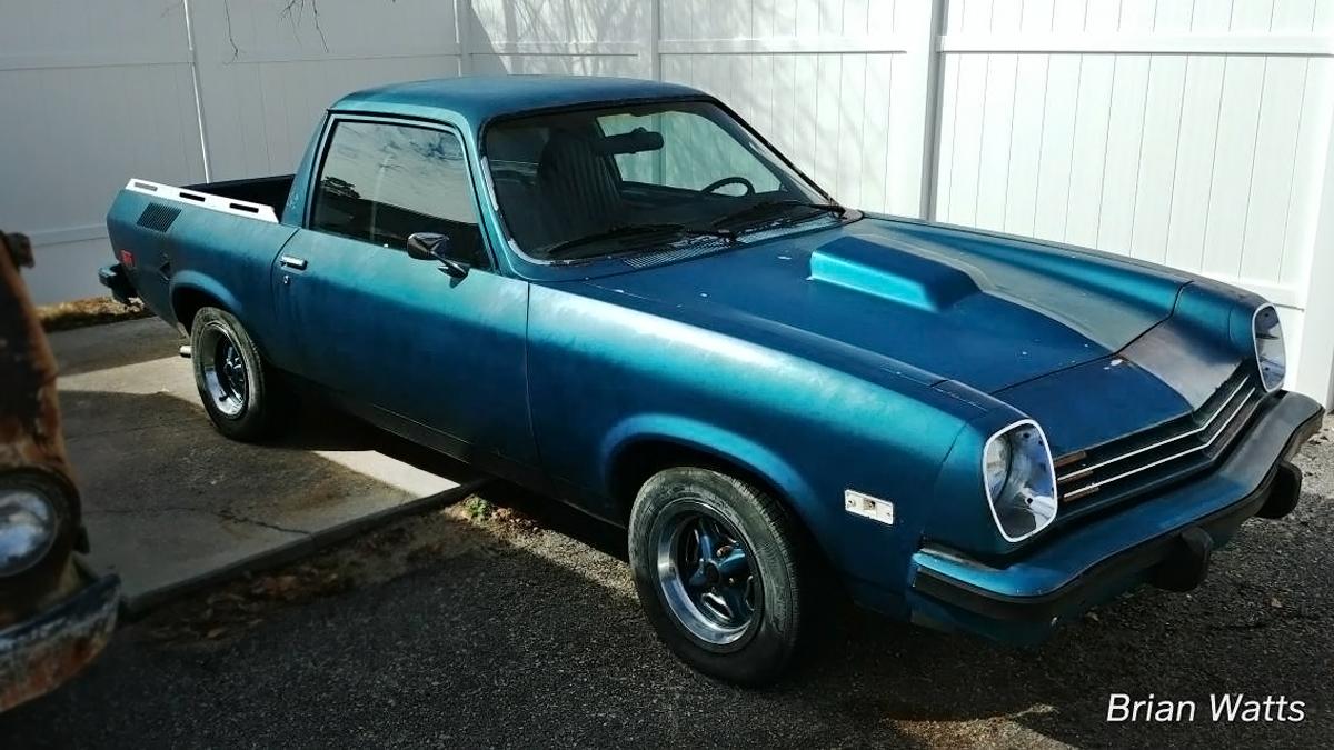Watch Out! 1977 Chevrolet Vega V8 Pickup