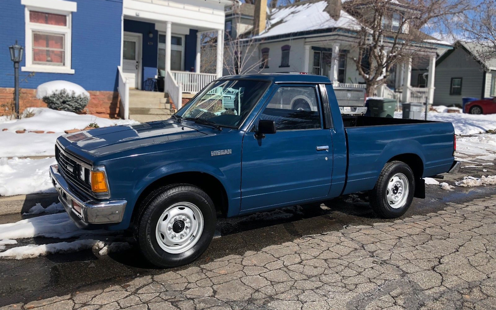 Chevy 85 Truck >> Short Bed Bargain? 1985 Nissan 720