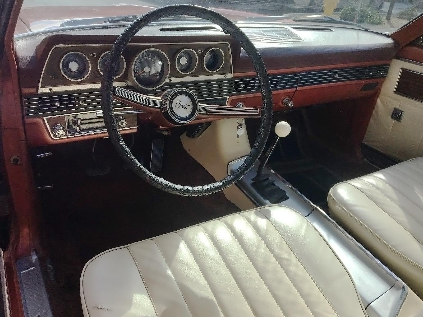 H-Code 390 V8 4-Speed! 1966 Mercury Comet Caliente  H-Code 390 V8 4...